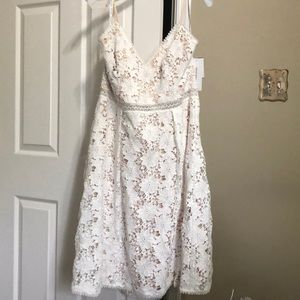 NWT White lace dress